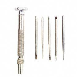 General SPC606 6 Piece Jeweler's Screwdriver & Hobby Set
