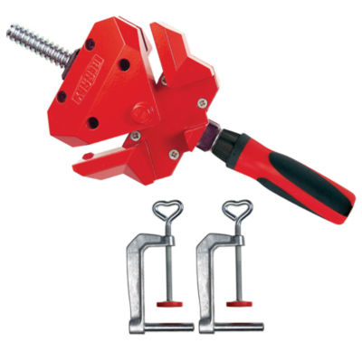 Bessey WS-3+2K 90 Degree Angle Clamp With Table Mount Clamps