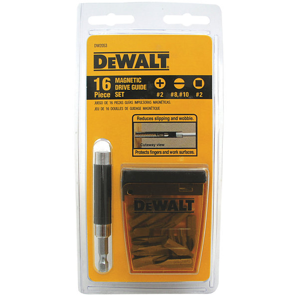 DeWalt DW2053 16 Piece Magnetic Driver Guide Set
