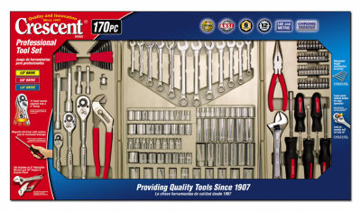 Crescent CTK170MP 170 Piece Professional Tool Set