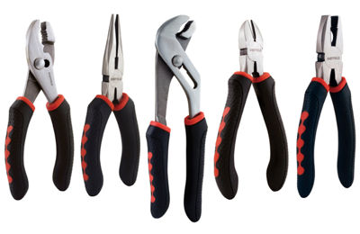 Sheffield 58527 5 Piece Pliers Set