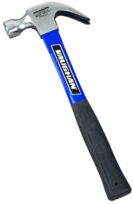 """Vaughan AFS16 16 Oz Smooth Face Claw Hammer with 13"""" Fiberglass Handle"""
