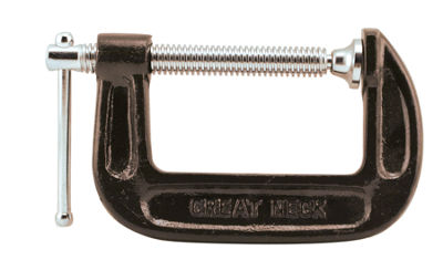 "Great Neck CC3 3"" Adjustable C Clamps"