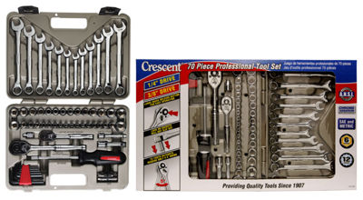 Crescent CTK70MP 70 Piece Socket & Tool Set