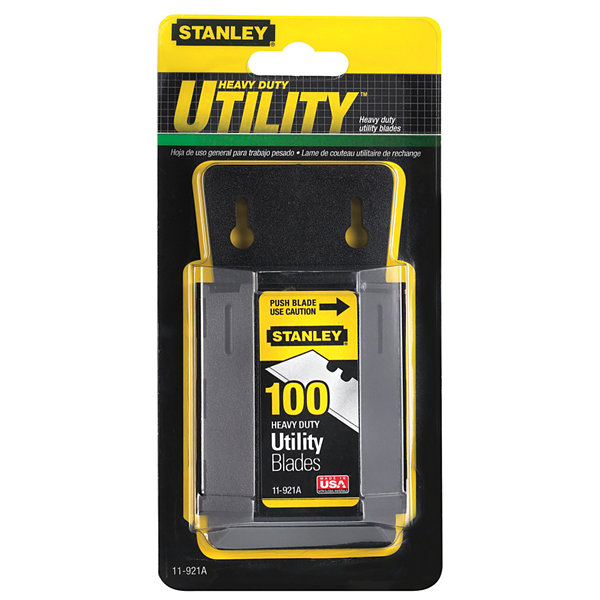Stanley Hand Tools 11-921A 100 Pack Utility KnifeBlades & Dispenser