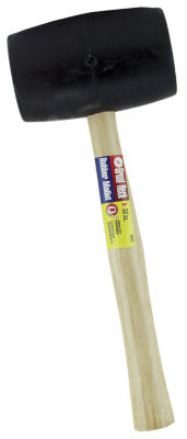 Great Neck RM32 32 Oz Rubber Mallet Wood Handle
