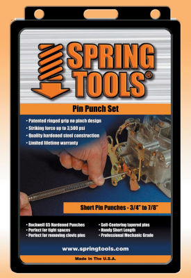 Spring Tools PPM503 4 Pc Spring Tools Pin Punch Assortment