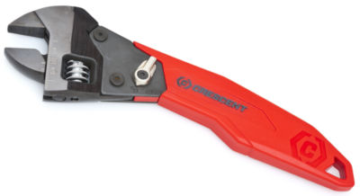 "Crescent ATR28 8"" Red & Black Ratcheting Adjustable Wrench"