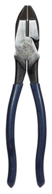 "Klein Tools D213-9NE 9"" High-Leverage Side Cutting Pliers"