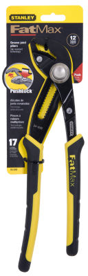 "Stanley Fat Max 84-649 12"" Stanley Fat Max Joint Groove Pliers"