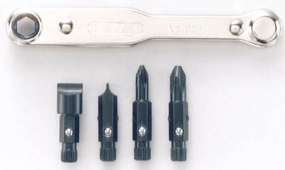 General 8071 5 Piece Slotted & Phillips Ratchet Offset Screwdriver Set