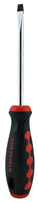 """Sheffield 58703 1/4"""" X 4"""" Slotted Screwdriver"""