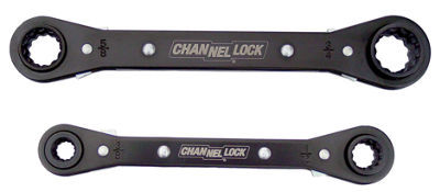 Channellock 841S 4-In-1 SAE Ratcheting Wrench 2 Piece Set