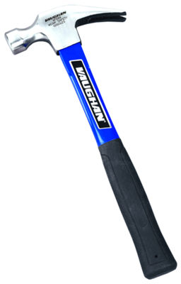 "Vaughan AFS99 16 Oz Smooth Face Rip Hammer With 13"" Fiberglass Handle"