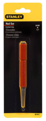 "Stanley Hand Tools 58-912 2/32"" Tip Cushion Grip Nail Set"