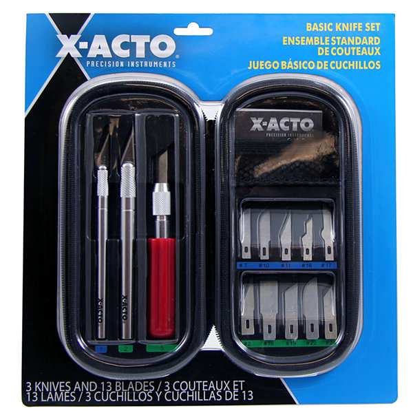 X Acto X5285 Basic Knife Set 16 Piece