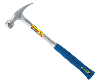 "Estwing E3-22S 22 Oz 16"" Smooth Face Metal Handle Framing Hammer"