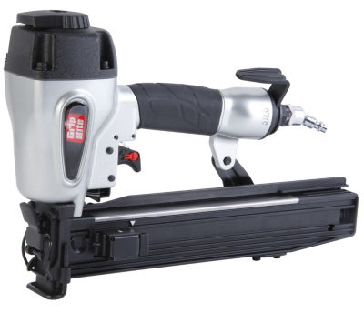 "Grip Rite GRTS1200 1"" Crown  2"" Leg 16 Gauge WideCrown Stapler"""