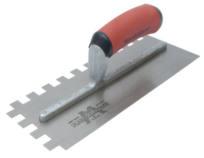"Marshalltown 775SD 11"" X 4-1/2"" X 1/2"" Notched Trowel"