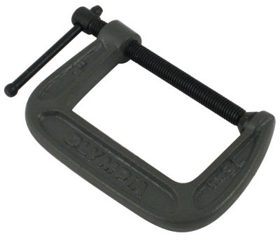 "Olympia Tools 38-130 3"" X 2"" C-Clamp"