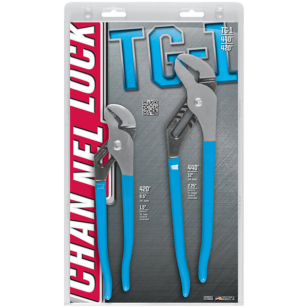Channellock TG1 Tongue And Groove Pliers Set