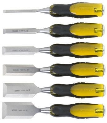 Stanley Hand Tools 16-971 6 Pc FatMax  Short Blade Chisel Set