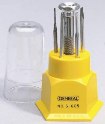 General S605 6 Piece 5 Blade Jeweler's Screwdriver Set