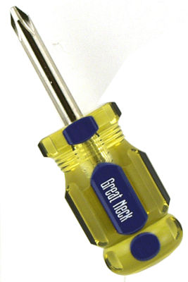 "Great Neck GR22C 1.5"" #2 Professional Phillips Screwdriver"