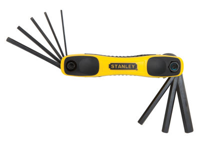 Stanley Hand Tools STHT71800 8 Piece Metric Hex Key Set