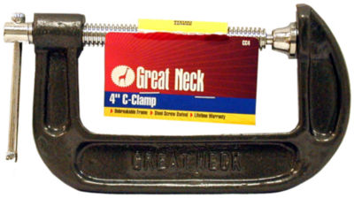 Great Neck CC4 4IN Adjustable C Clamps