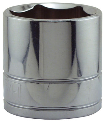"Great Neck SK43 1-1/4"" X 1/2"" Drive 6 Point Socket Standard"