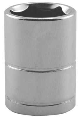 "Great Neck SK20 3/8"" X 3/8"" Drive 6 Point Deep Well Socket Standard"