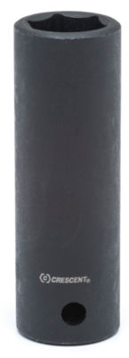 Crescent CIMS35 1/2IN Drive 21mm 6 Pt Black Metric Deep Impact Socket