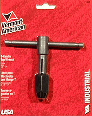 Vermont American 21917 # 1/4IN To 1/2IN T-Handle TapWrenches