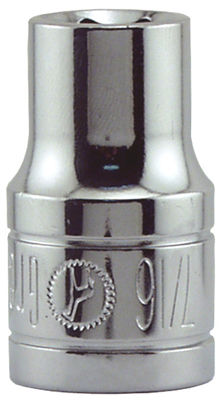 "Great Neck SK31 7/16"" 1/2"" Drive 6 Point Socket Standard"
