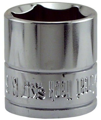 "Great Neck SK17 13/16"" X 3/8"" Drive 6 Point Socket Standard"