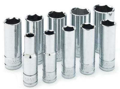 "Wilmar W38402 3/8"" Drive Deep Socket Set"""