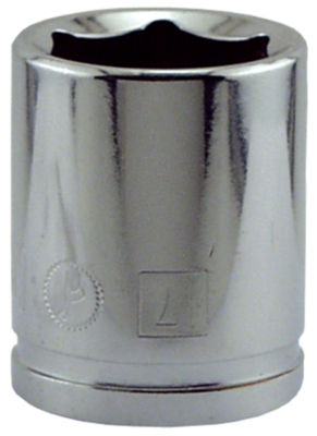 "Great Neck SK17M 17MM X 3/8"" Drive 6 Point Socket Metric"