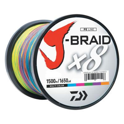 Daiwa J-Braid Braided Line - 100 Lbs Tested- 1650Yards/1500M Filler Spool