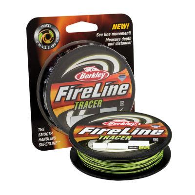 "Berkley Fireline Fused Tracer Superline Line Spool 300 Yards- 0.015"" Diameter- 30 Lb Breaking Strength"