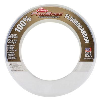 "Berkley Prospec 100% Fluorocarbon Leader Mat 33 Yards- 0.041"" Diameter- 100 Lbs Breaking Strength"