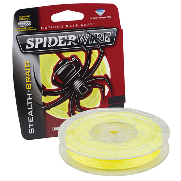 "Spiderwire Stealth Braid Superline Line Spool 250Yards- 0.0016"" Diameter- 80 Lbs Breaking Strength"""