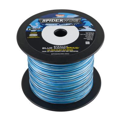 """Spiderwire Stealth Braid Superline Spool 3000 Yards- 0.014"""" Diameter - 50 Lbs Breaking Strength"""