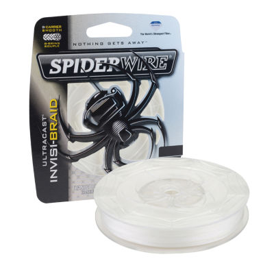 "Spiderwire Ultracast Invisi-Braid Superline Line Spool 300 Yards- 0.006"" Diameter- 8 Lbs Breaking Strength"