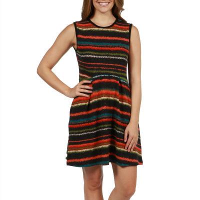 24/7 Comfort Apparel Kaya Sweater Knit Dress