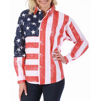 LaMonir Flag Jacket - Plus