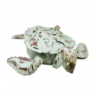 Rustic Arrow Sea Turtle Figurine