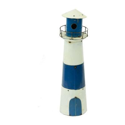 Rustic Arrow Lighthouse Figurine