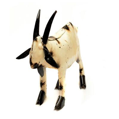Rustic Arrow Goat Figurine