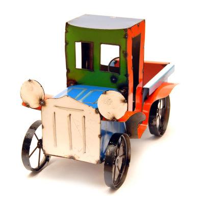 Rustic Arrow Pickup Truck Figurine
